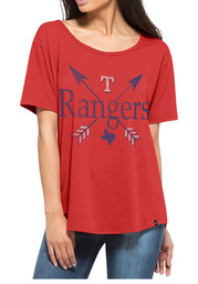 '47 Brand Texas Womens Red Boyfriend Scoop