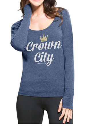 '47 Kansas City Royals Womens High Point Scoop Neck Tee
