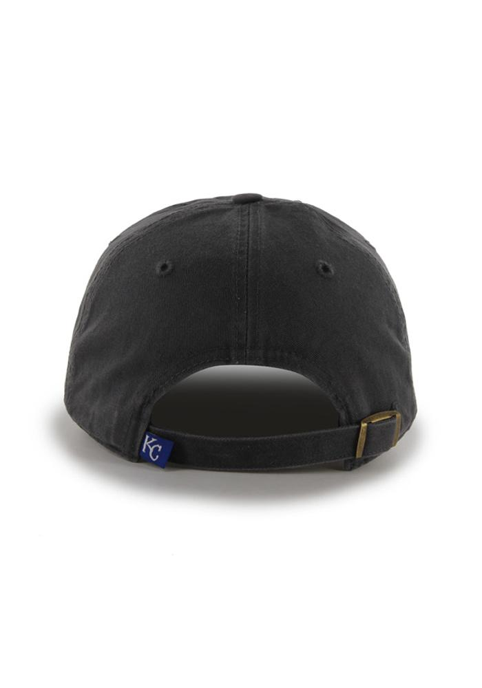 47 Kansas City Royals Clean Up Adjustable Hat - Charcoal - Image 2