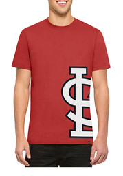47 St Louis Cardinals Red Double Coverage Tee Fashion Tee