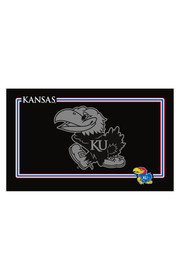 Kansas Jayhawks Black Pet Mat