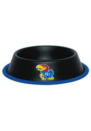 Kansas Jayhawks 32oz Black Matte Pet Bowl