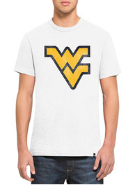 47 West Virginia Mountaineers White Scrum Fashion Tee