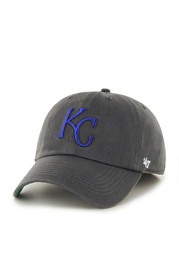 Kansas City Royals 47 Charcoal Franchise Fitted Hat