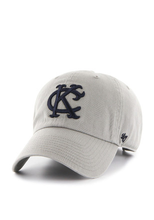 47 Kansas City Athletics Grey 1962 Clean Up Adjustable Hat f7b418713