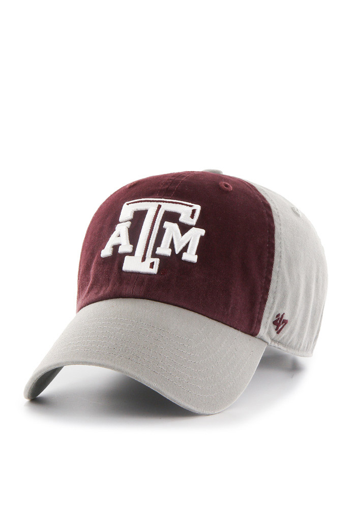 47 Texas A&M Aggies Sophomore Clean Up Adjustable Hat - Grey