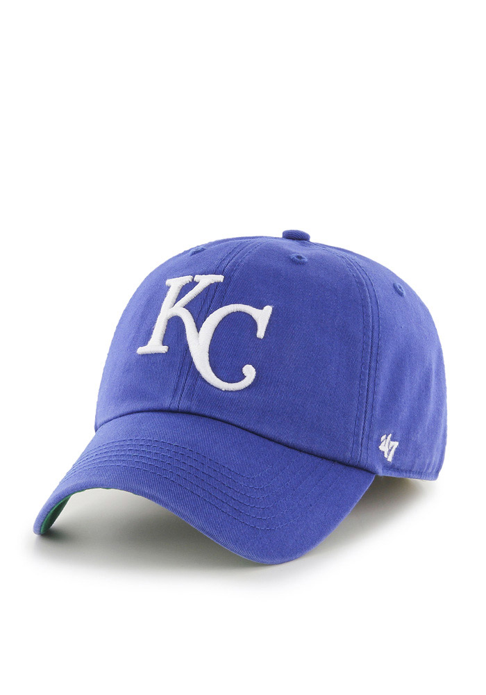 '47 Kansas City Royals Mens Blue 1969 Franchise Fitted Hat - Image 1