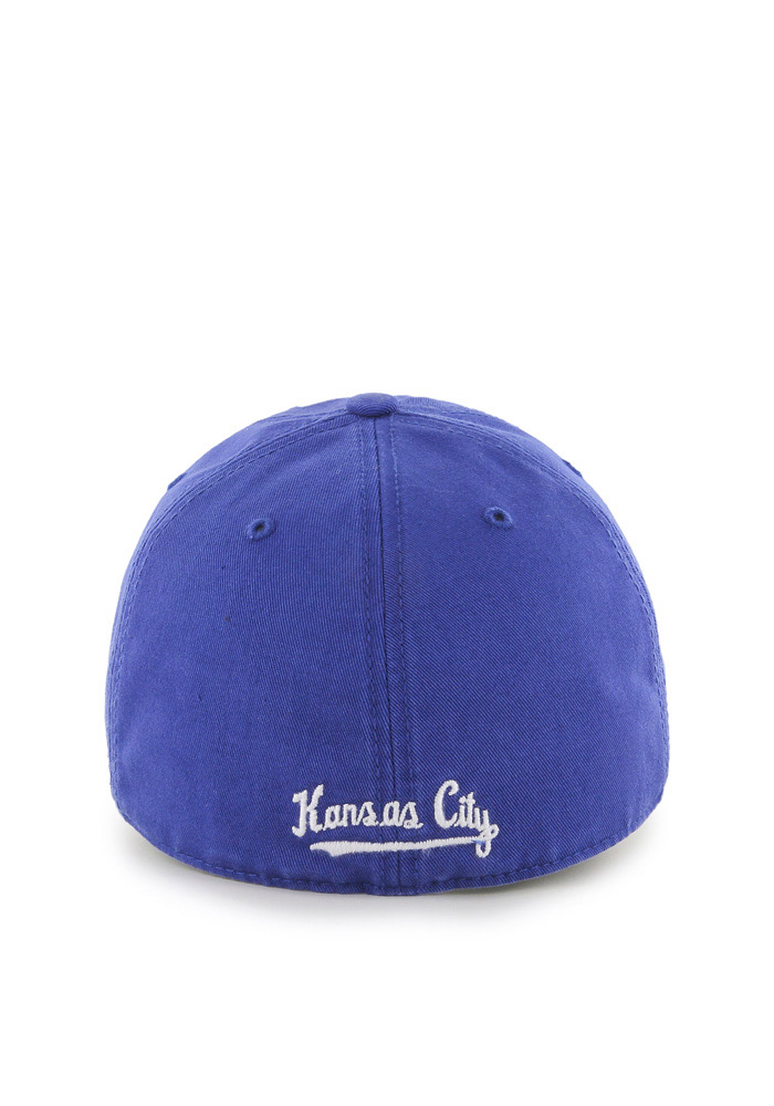 '47 Kansas City Royals Mens Blue 1969 Franchise Fitted Hat - Image 2