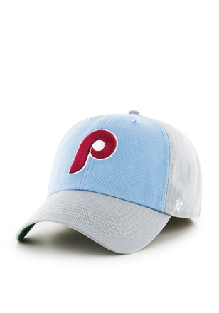 Philadelphia Phillies '47 Mens Grey Sophomore Franchise Fitted Hat