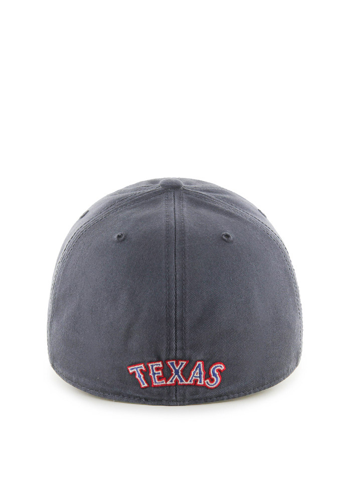 47 Texas Rangers Mens Charcoal Franchise Fitted Hat - Image 2
