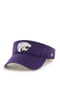 47 K-State Wildcats Purple Clean Up Adjustable Visor
