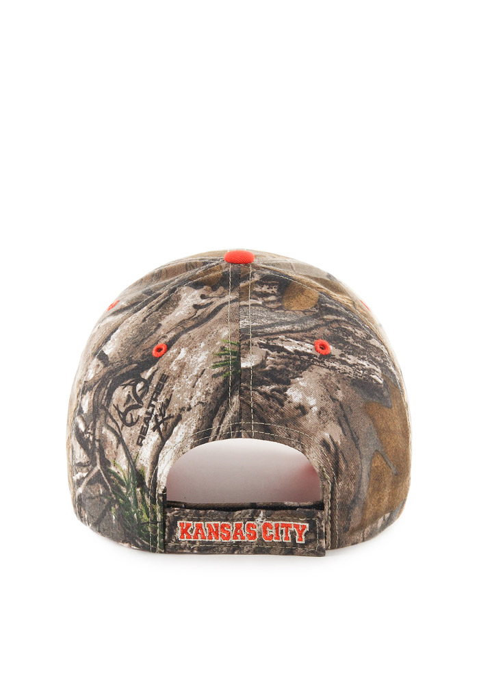 '47 Kansas City Royals RealTree Frost MVP Adjustable Hat - Green - Image 2