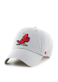 St Louis Cardinals Grey 1956 Clean Up Youth Adjustable Hat