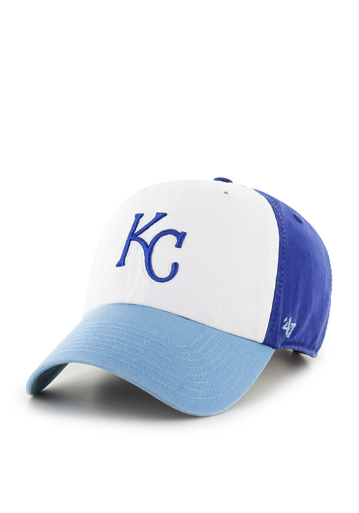 Kansas City Royals Blue All American Clean Up Youth Adjustable Hat - Image 1