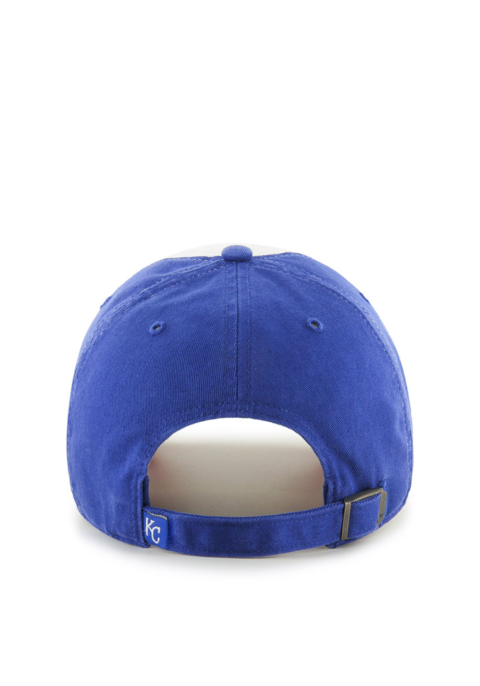 Kansas City Royals Blue All American Clean Up Youth Adjustable Hat - Image 2