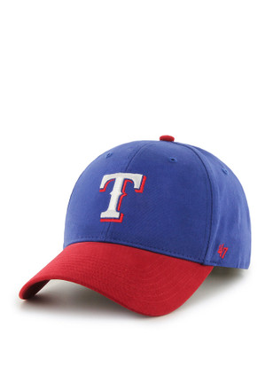 8fb2878434f 47 Texas Rangers Blue Short Stack Youth Adjustable Hat