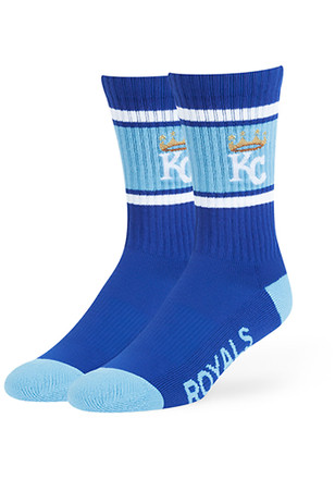 Kansas City Royals '47 Duster Crew Socks