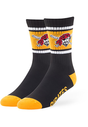 Pittsburgh Pirates '47 Duster Crew Socks