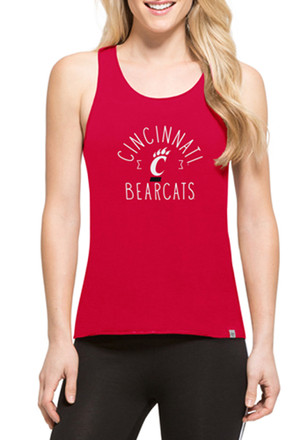 '47 Cincinnati Bearcats Womens Red Lumi Tank Top