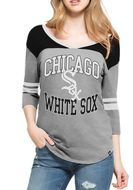 47 Chicago White Sox Womens Grey Replay Rush T-Shirt