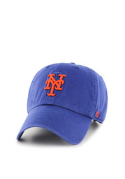 '47 New York Mets Mens Blue Home Clean Up Adjustable Hat