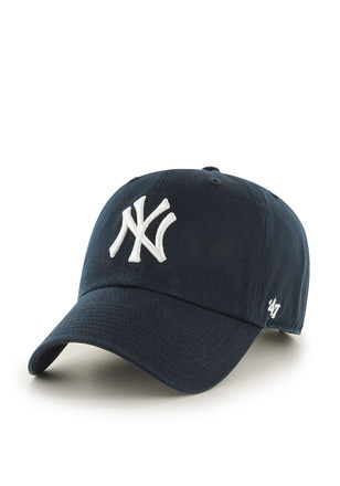 '47 New York Yankees Mens Navy Blue Home Clean Up Adjustable Hat