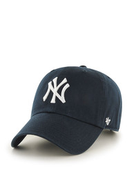 47 New York Yankees Home Clean Up Adjustable Hat - Navy Blue