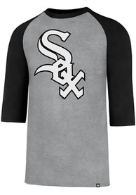 47 Chicago White Sox Grey Club Raglan Tee