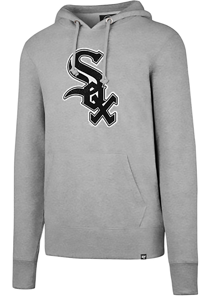 '47 Chicago White Sox Mens Grey Headline Hoodie