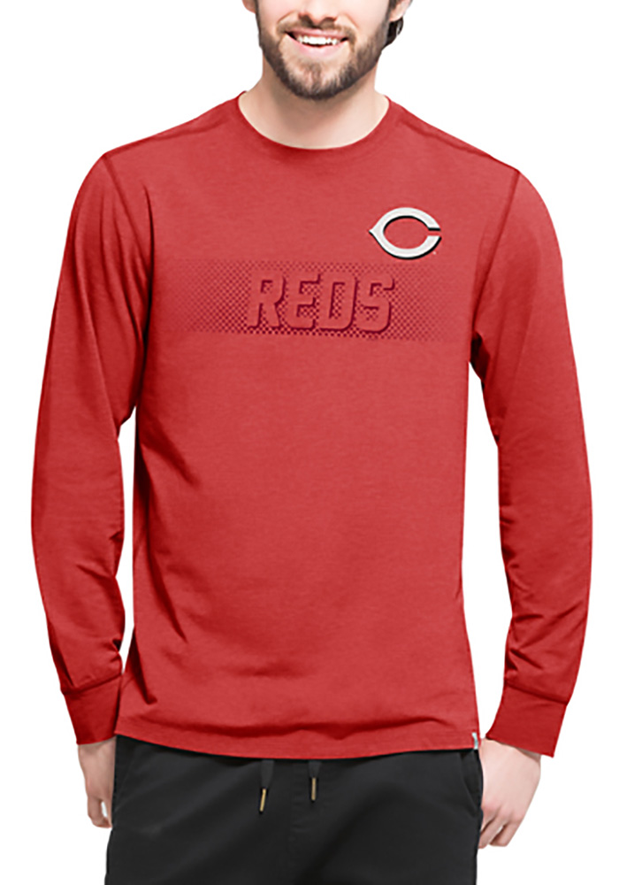 47 Cincinnati Reds Red Forward Long Sleeve T-Shirt - Image 1
