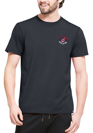 '47 Cleveland Indians Mens Navy Blue SS Athleisure Full Speed Tee Tee