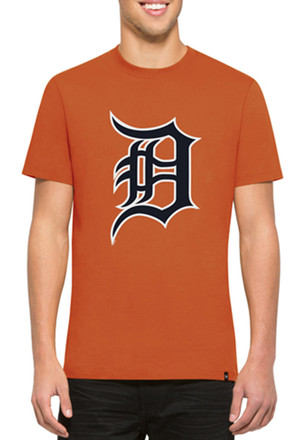 '47 Detroit Tigers Mens Orange Crosstown Flanker Fashion Tee