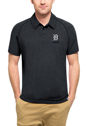 '47 Detroit Tigers Mens Navy Blue Forward Athleisure Polo
