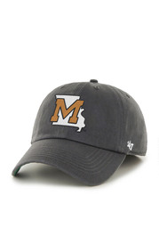 Mizzou Mens charcoal Classic Collection Franchise Fitted Hat
