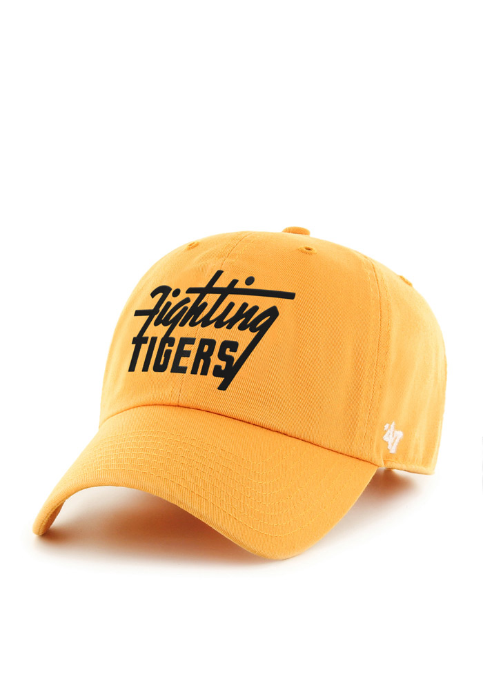 '47 Missouri Tigers Mens Gold Classic Collection Clean Up Adjustable Hat - Image 1