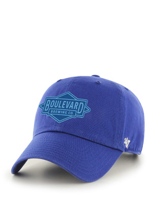Boulevard Brewing '47 CLEAN UP Royal Blue Adjustable Hat