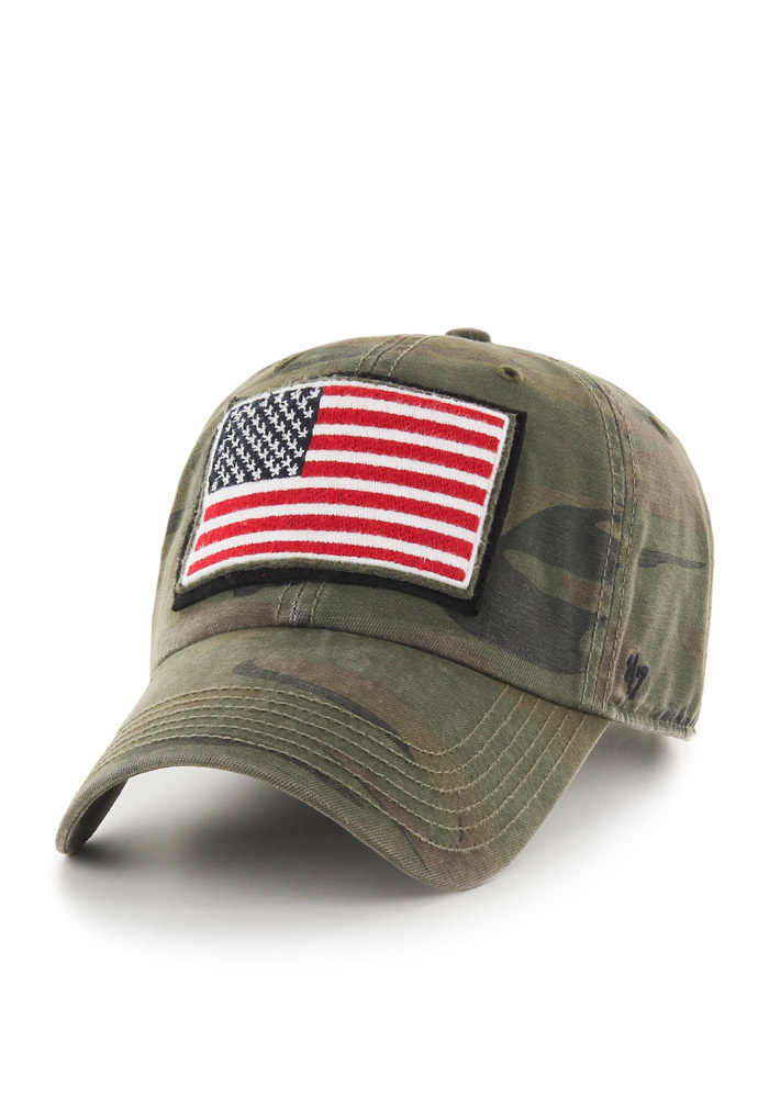 47 Team USA Movement Adjustable Hat - Green - Image 1