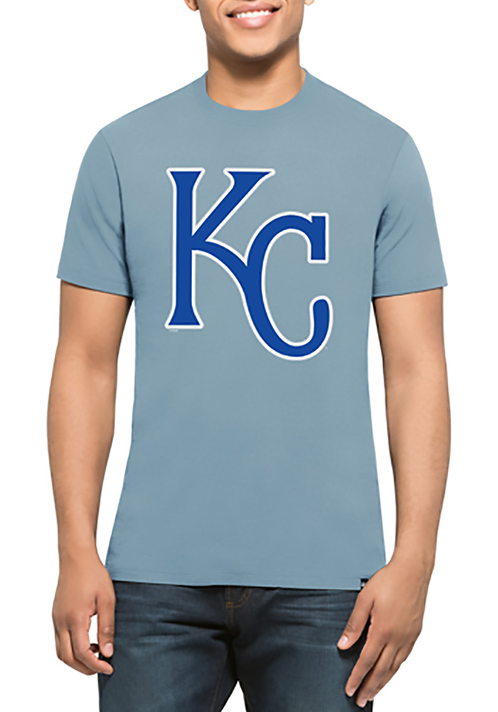 47 Kansas City Royals Light Blue Splitter Tee