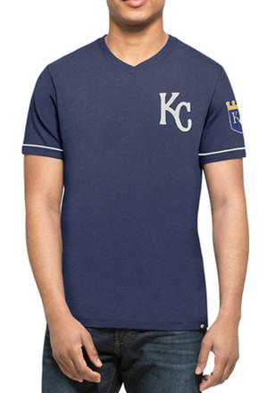 '47 KC Royals Mens Blue Diamond King Fashion Tee