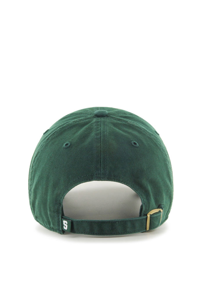 47 Michigan State Spartans Green Clean Up Youth Adjustable Hat - Image 2