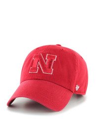 7a1c7dbc720 47 Nebraska Cornhuskers Red Clean Up Youth Adjustable Hat
