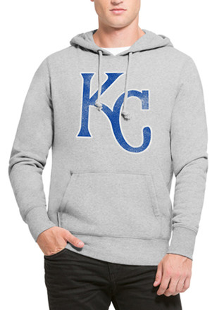 '47 KC Royals Mens Headline Grey Fashion Hood