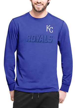 '47 Kansas City Royals Mens Blue Forward Athleisure Tee