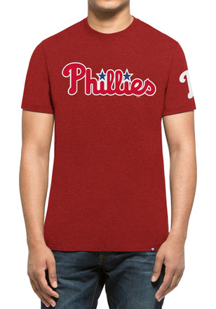 '47 Phillies Mens Red Team Club Tee