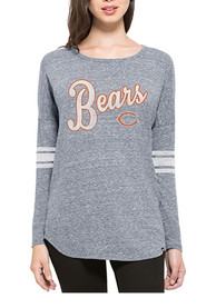 47 Chicago Bears Womens Neps Navy Blue LS Tee