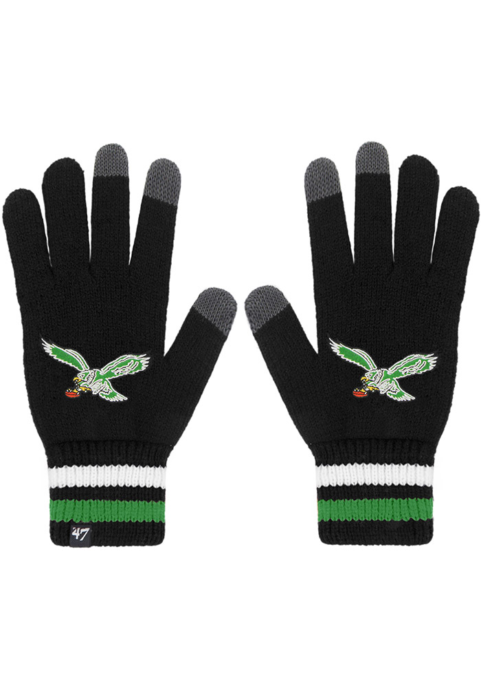 47 Philadelphia Eagles Jumble Mens Gloves - Image 1