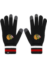 47 Chicago Blackhawks Jumble Gloves