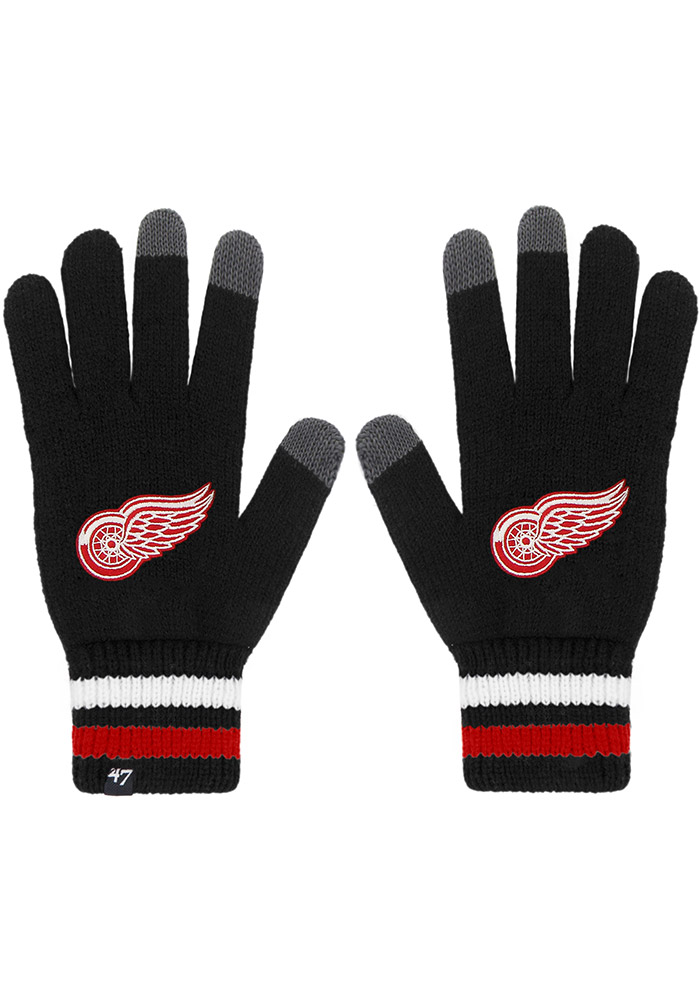 47 Detroit Red Wings Jumble Mens Gloves - Image 1