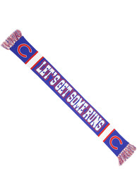 47 Chicago Cubs Rally Loud Slogan Scarf