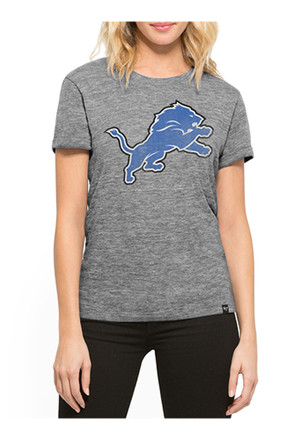 '47 Detroit Lions Womens Grey MVP Hero T-Shirt